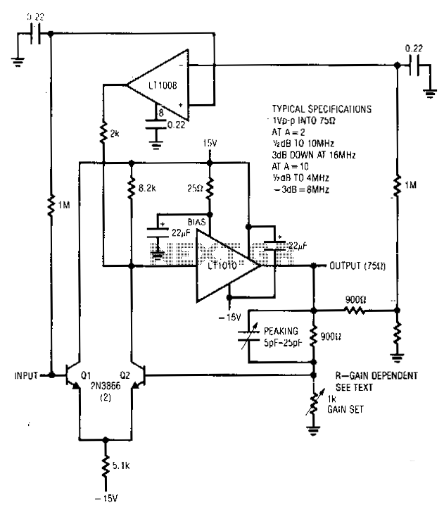 Stabilized-amplifier