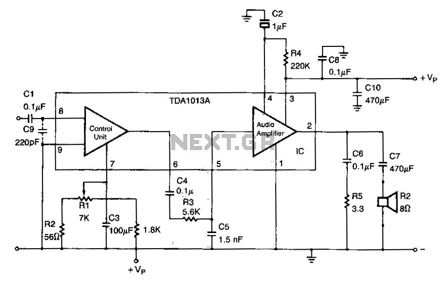 audio amplifier circuit page 4   audio circuits    next gr