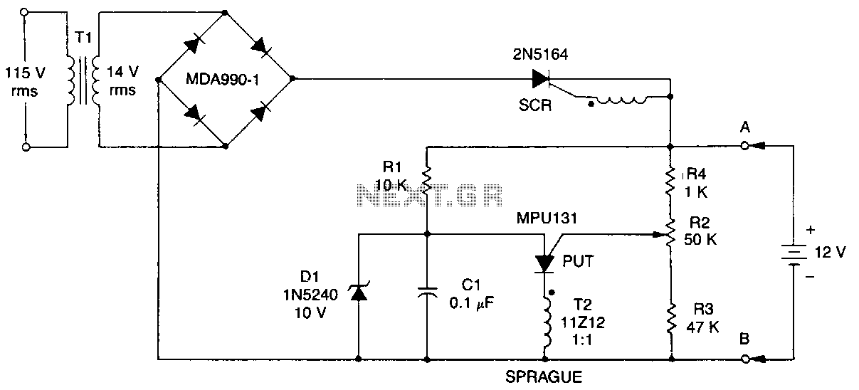 Put-battery-charger - schematic