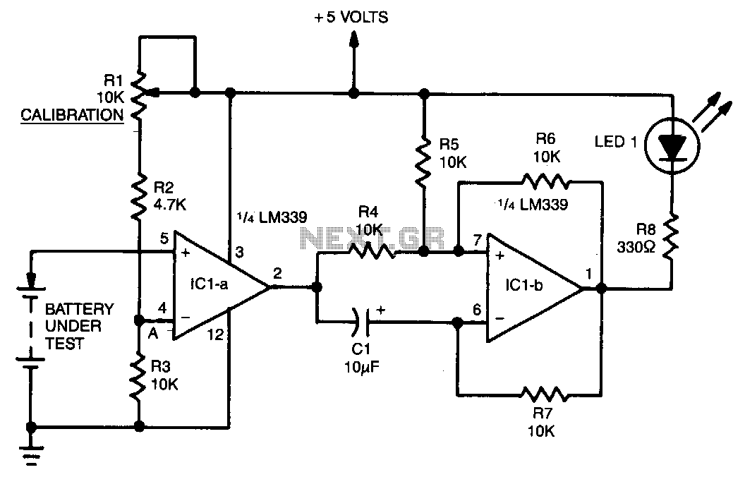Low-battery-warning - schematic