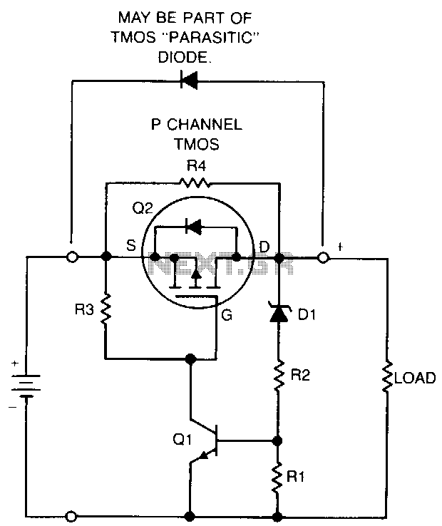 Nicad-batterv-protection-circuit - schematic