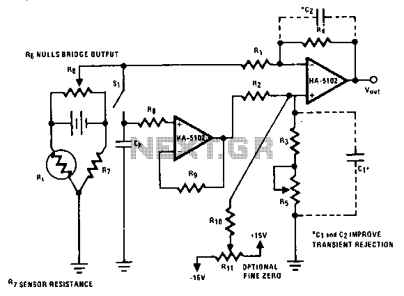 Auto-zeroing-scale - schematic