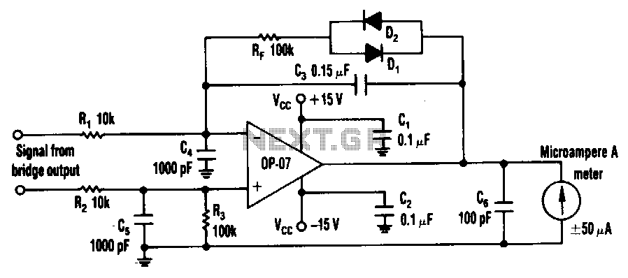 Accurate-variable-gain-circuit - schematic