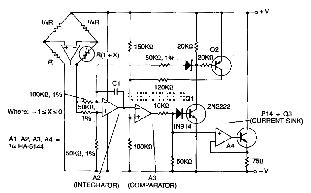 Remote-sensor-loop-transmitter - schematic