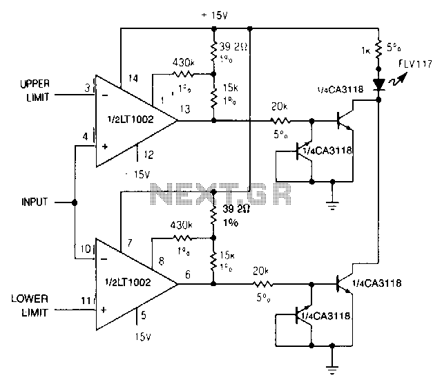 Dual-limit-microvolt-comparator - schematic
