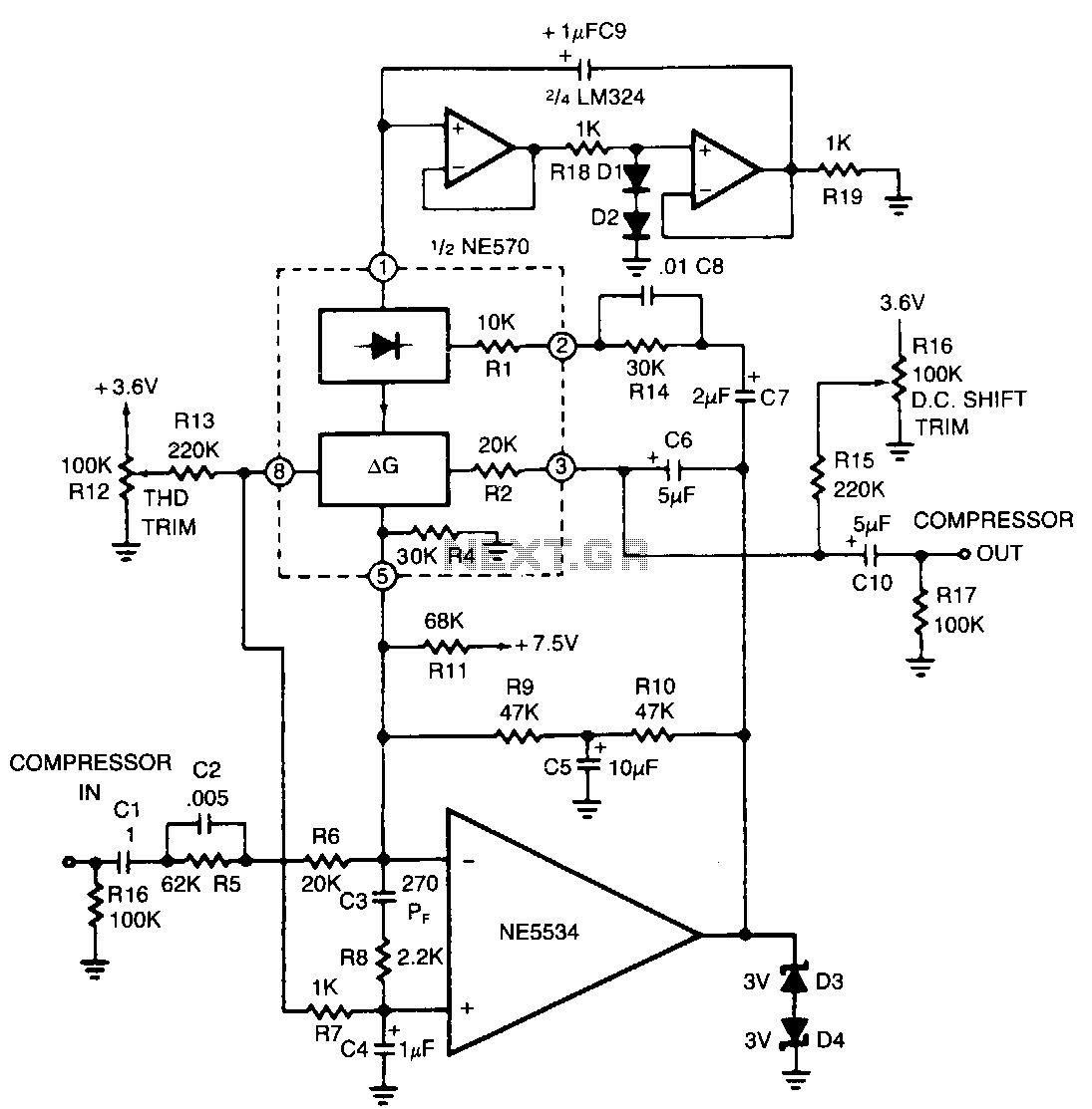 audio effect circuit page 3   audio circuits    next gr