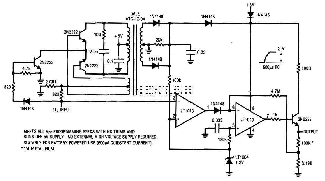 Multiple-input-detector - schematic