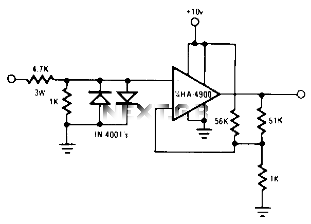 Rs232c-led-circuit - schematic