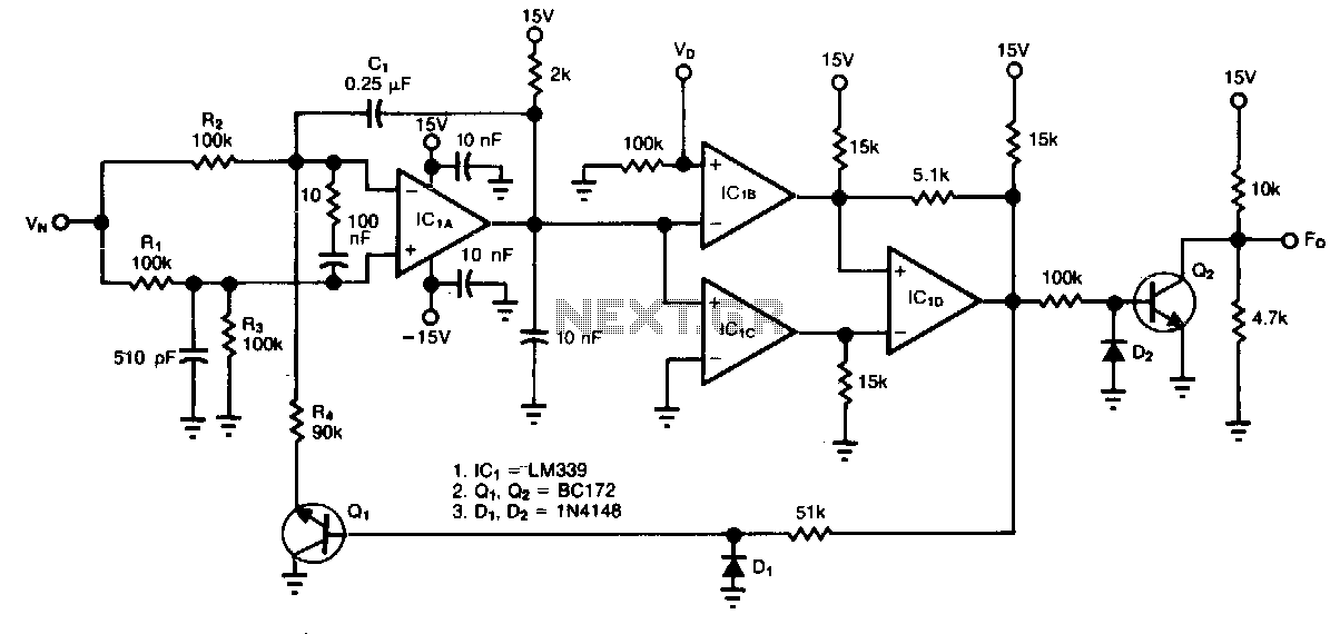 Voltage-ratio-to-frequency-converter