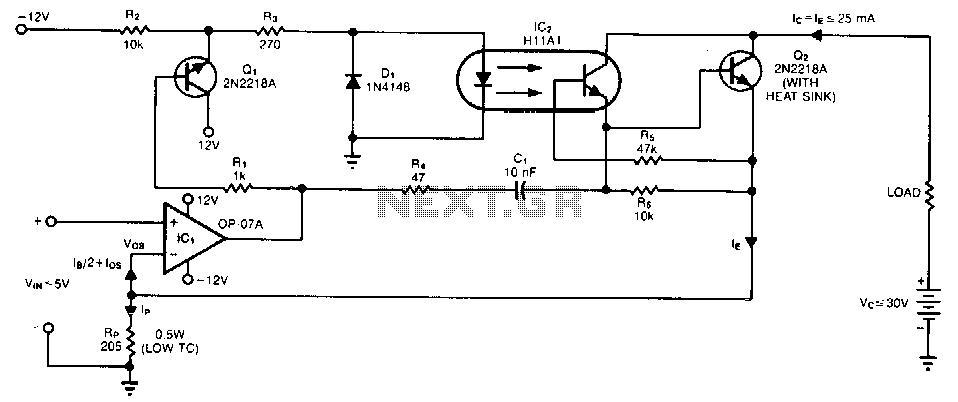 Zero-error-converter - schematic