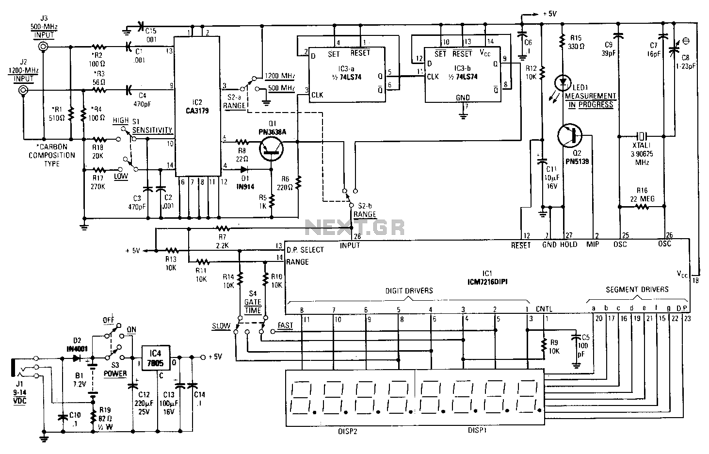 Lighting Circuit Page 2 Light Laser Led Circuits As All Wireless Control System Ultrasonic Lampbrightness Controller 12ghz Frequency Counter