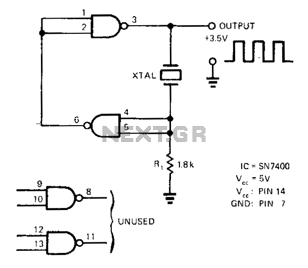 crystal oscillator circuit page 2   oscillator circuits    next gr