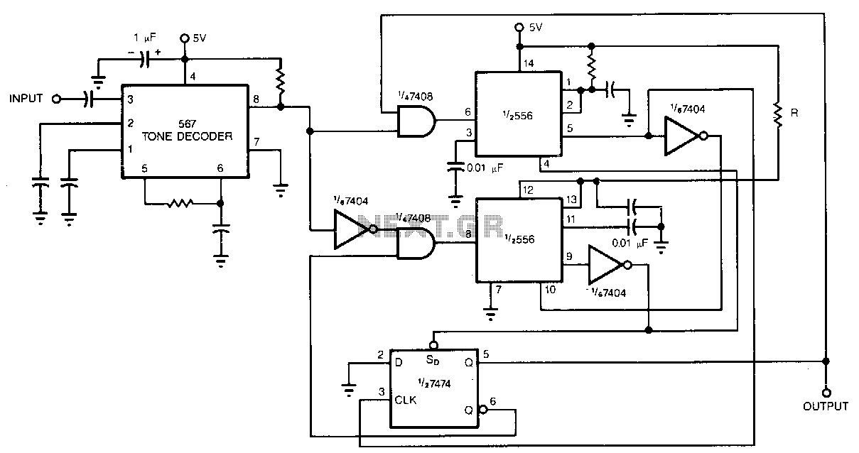 Tone-decoder - schematic