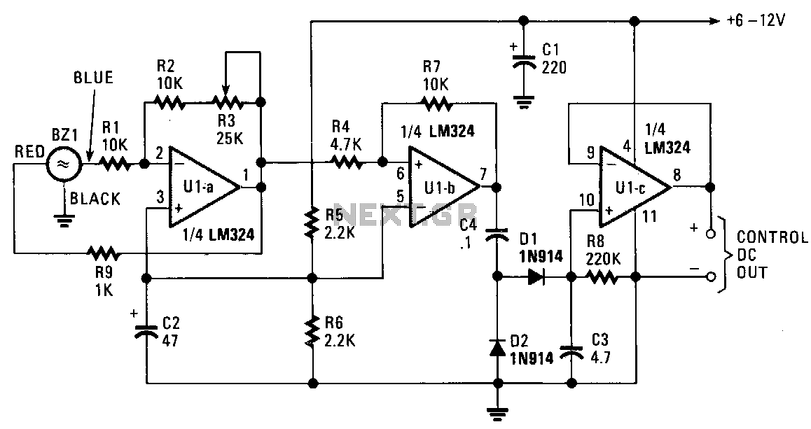 Sound-activated-decoder - schematic