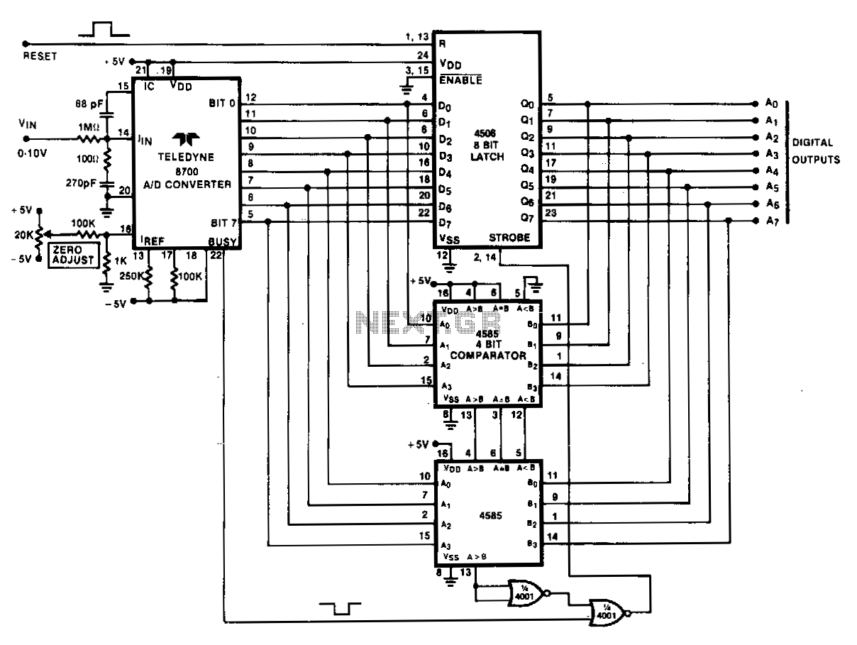 Analog-peak-detector-with-digital-hold - schematic