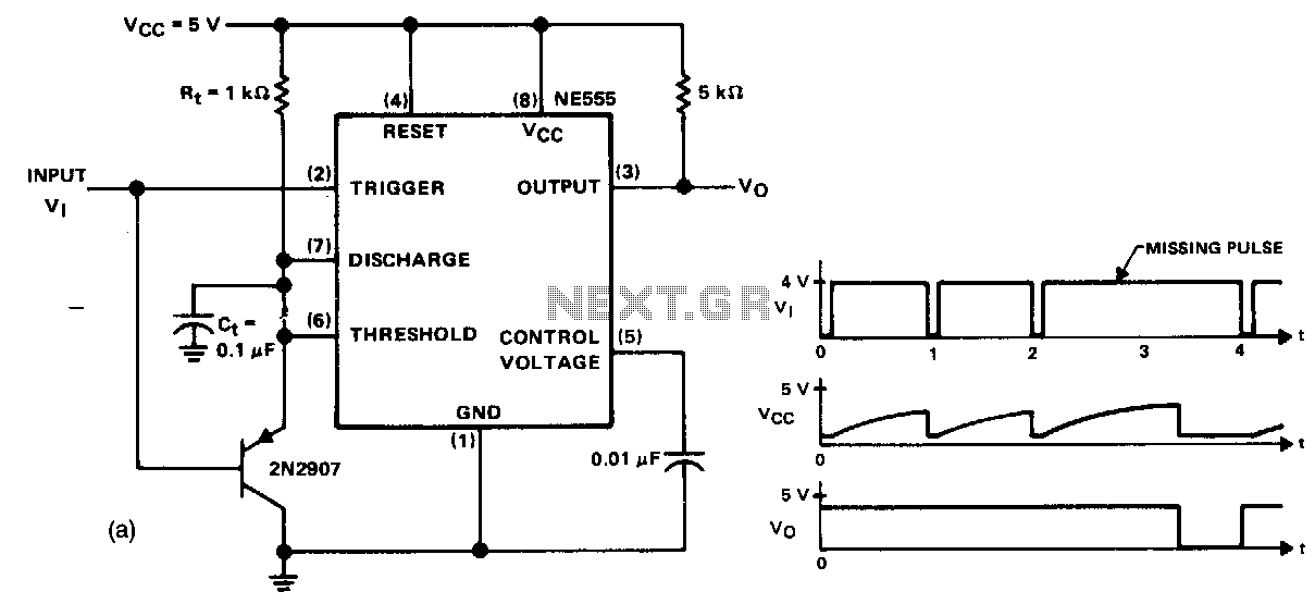 Missing-pulse-detector - schematic