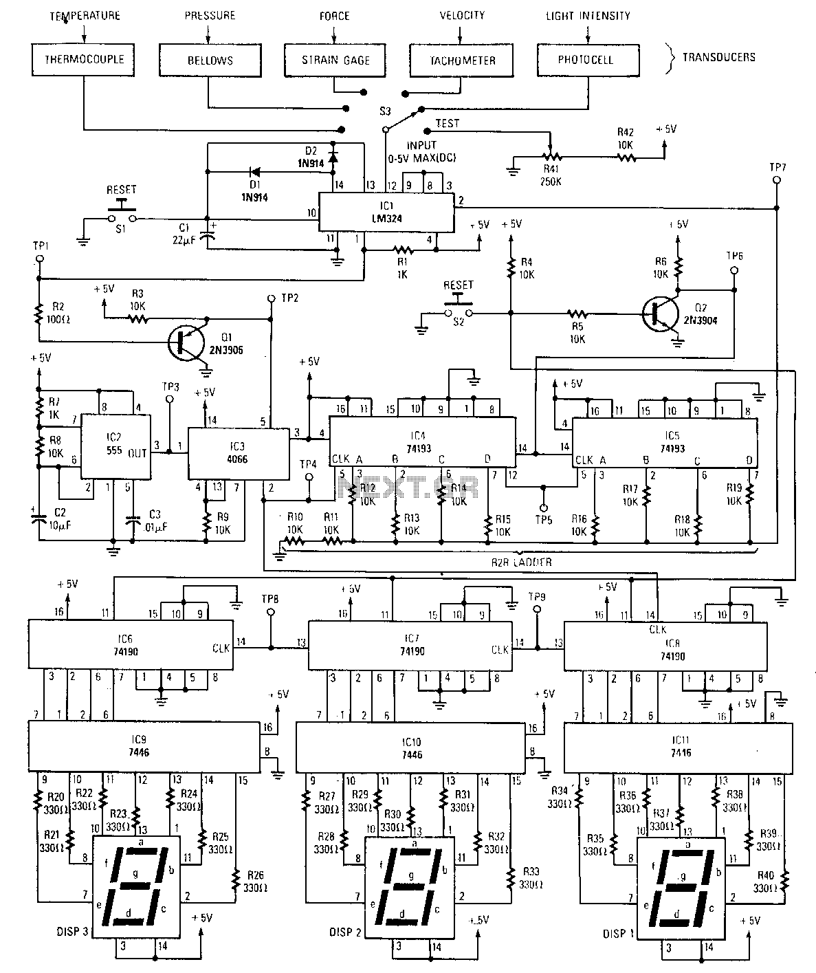 Digital-peak-detector - schematic