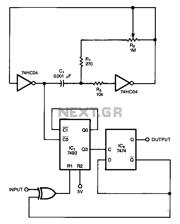 Noisy-signals-filter - schematic