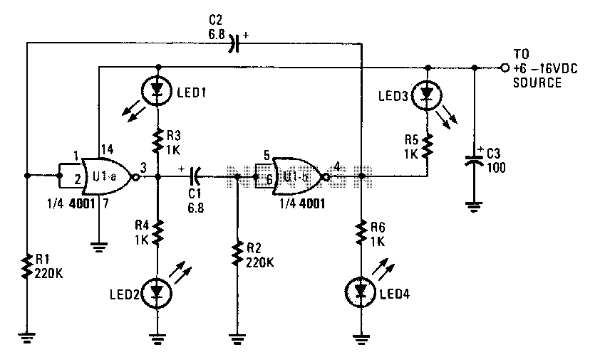 Cmos-flasher - schematic