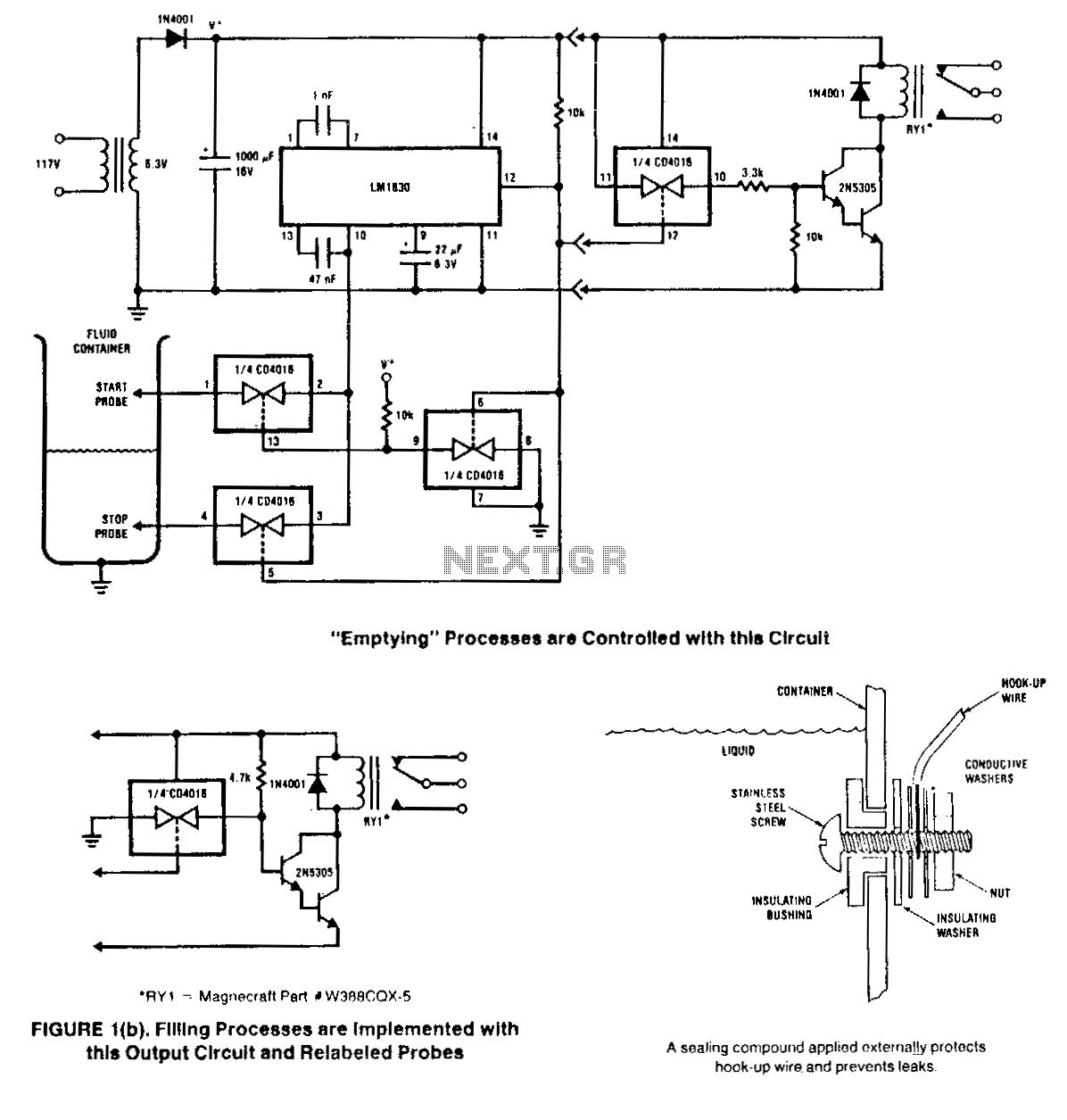 Fluid-level-control - schematic