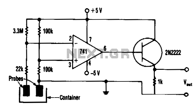 Liquid-level-monitor - schematic