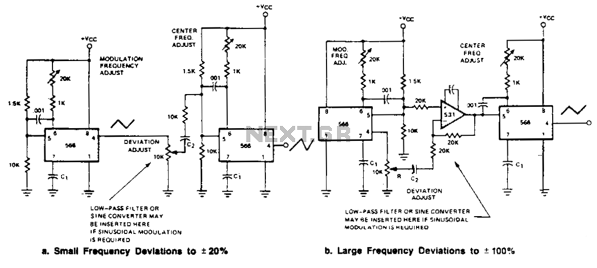 Low-frequency-fm-generators - schematic