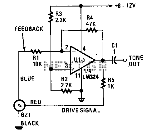Fixed-frequency-generator - schematic