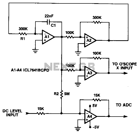 Triangle-generator - schematic