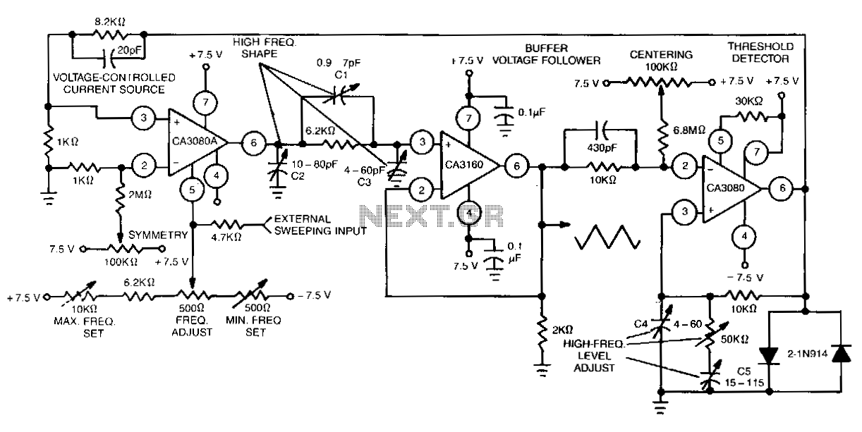 Single-control-function-generator - schematic