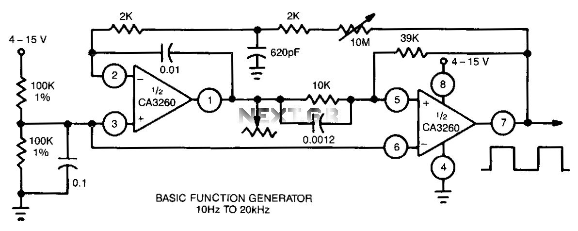 Basic-function-generator - schematic