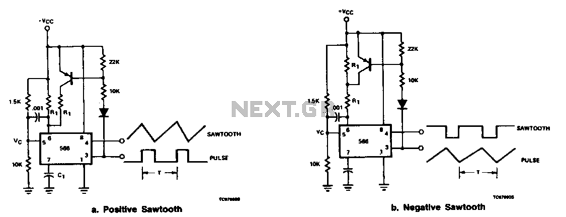 sawtooth-and-pulse-generator   varius circuits