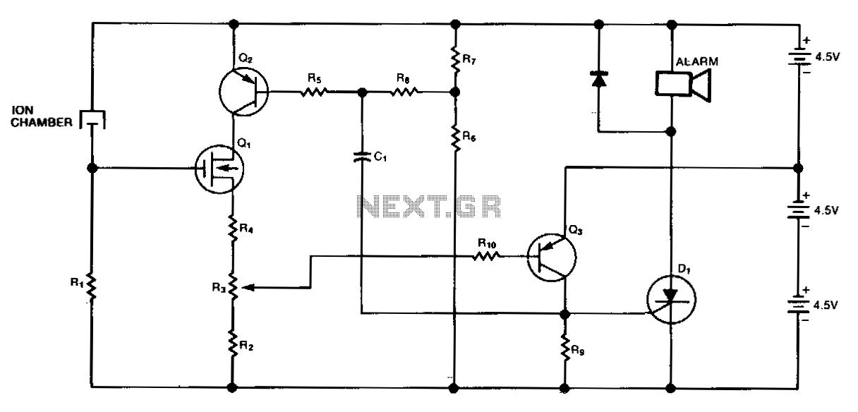 gas sensor circuit sensors detectors circuits next gr rh next gr Electronic Circuits Projects Diagrams PDF IC Circuit Diagrams