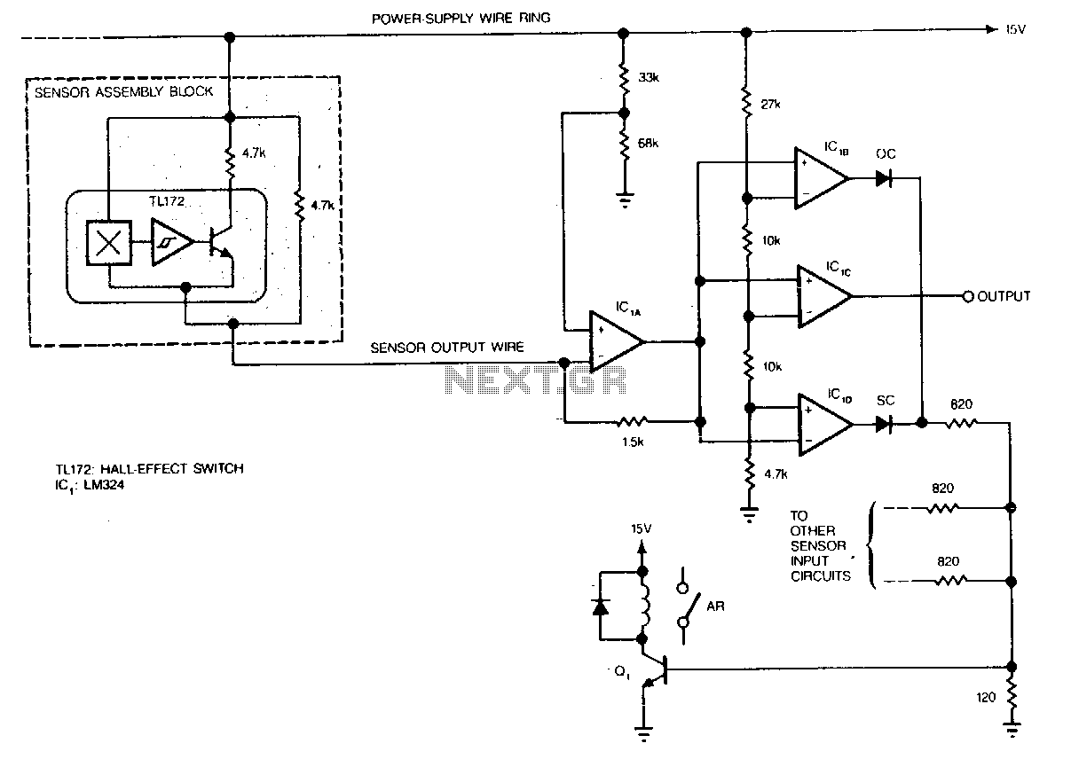Hall-effect-switches - schematic