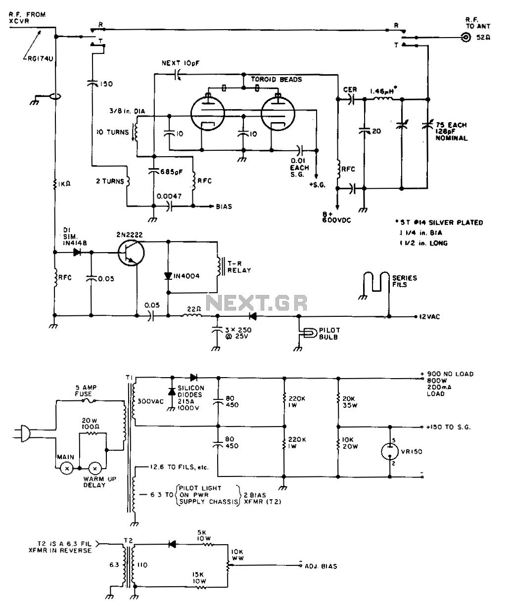 29Mhz-amplifier - schematic