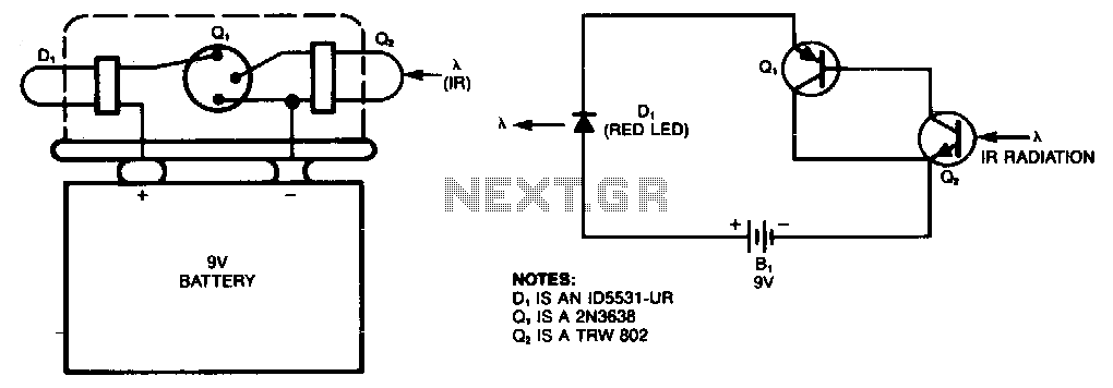 Simple-ir-detector - schematic