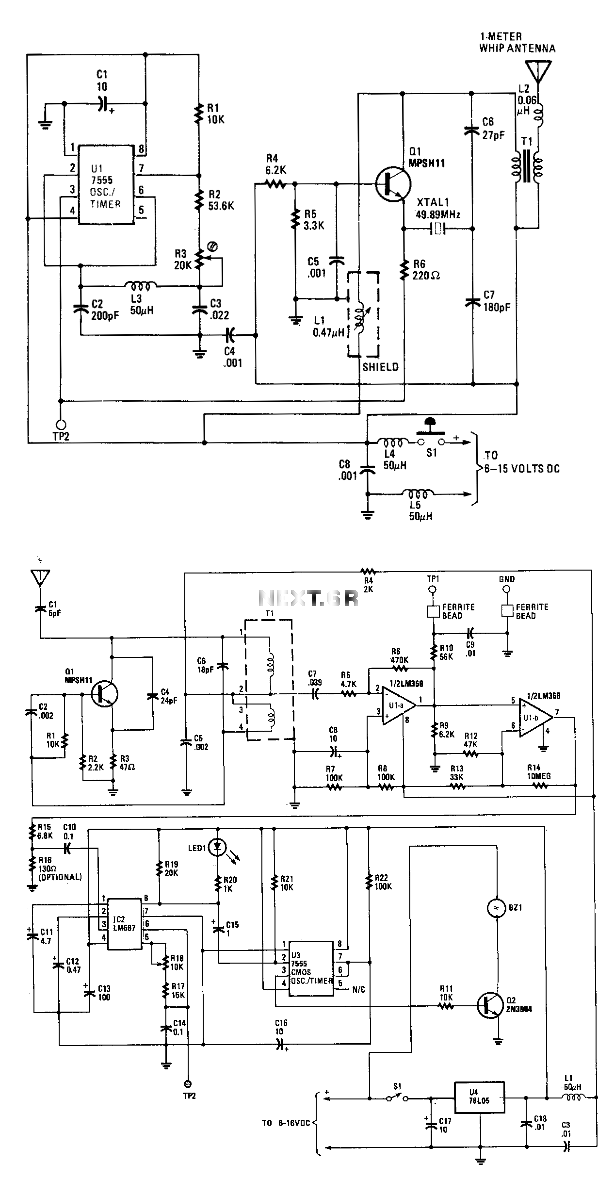 personal-pocket-pager   intercom circuits