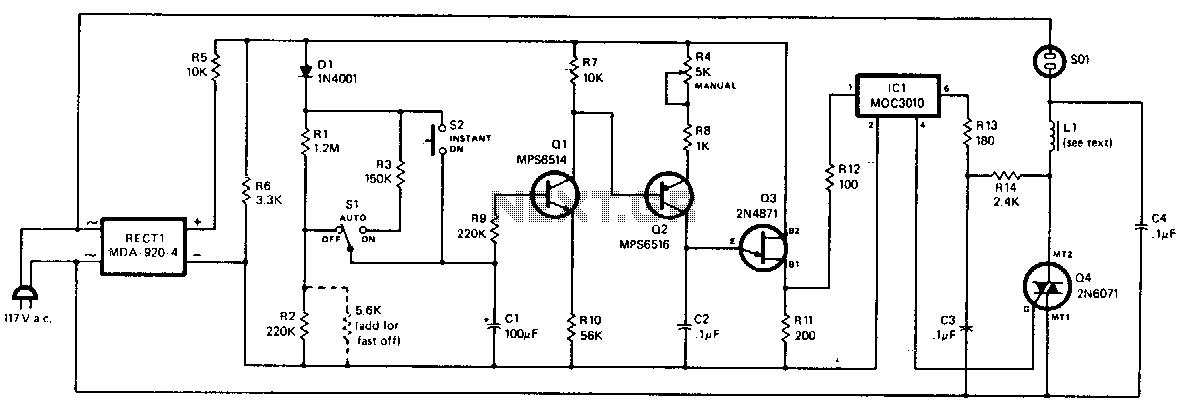 Solid-state-light-dissolver - schematic