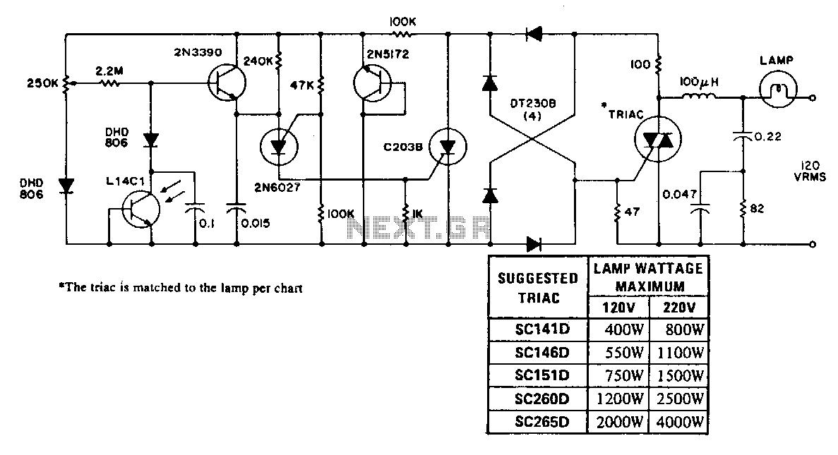 light sensor circuit   sensors detectors circuits    next gr