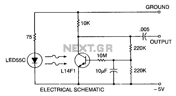 Low-light-level-drop-detector - schematic