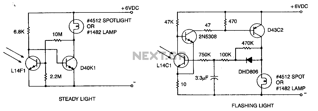 Warning-light-and-marker-light - schematic