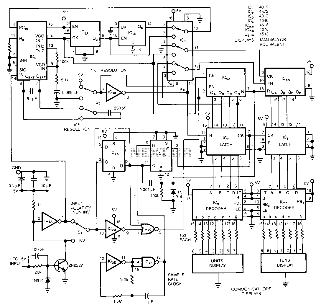 New Circuits Page 222 Http Circuitdiagramhqewnet Adjustablevoltageregulatorcircuit Duty Cycle Monitor The Circuit