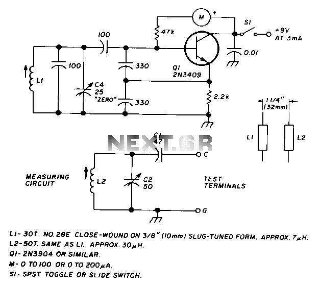 Lc-checker - schematic