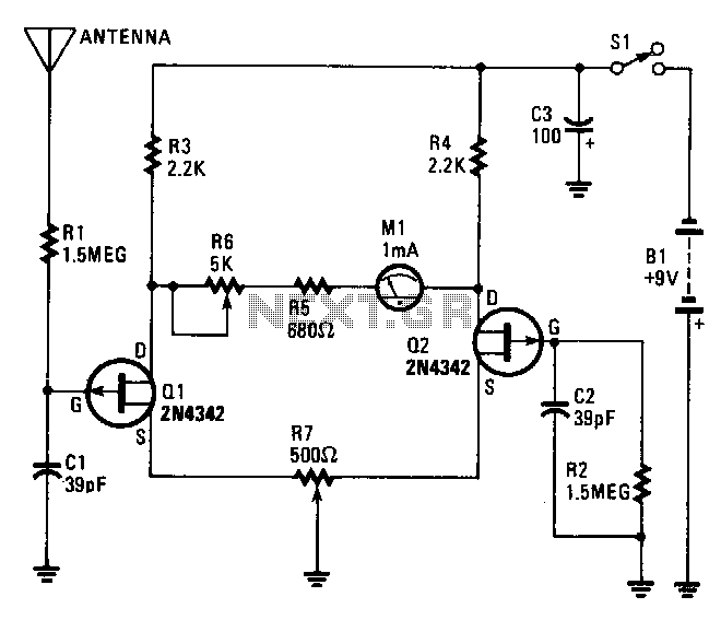 electrostatic-detector under voltage detector circuits