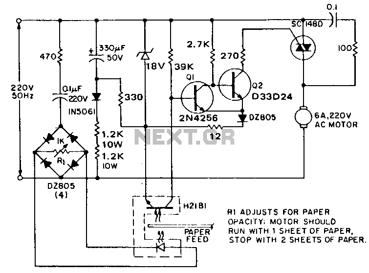 Paper-sheet-discriminator - schematic