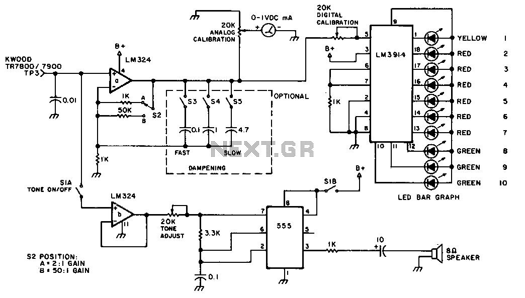 Smeter - schematic