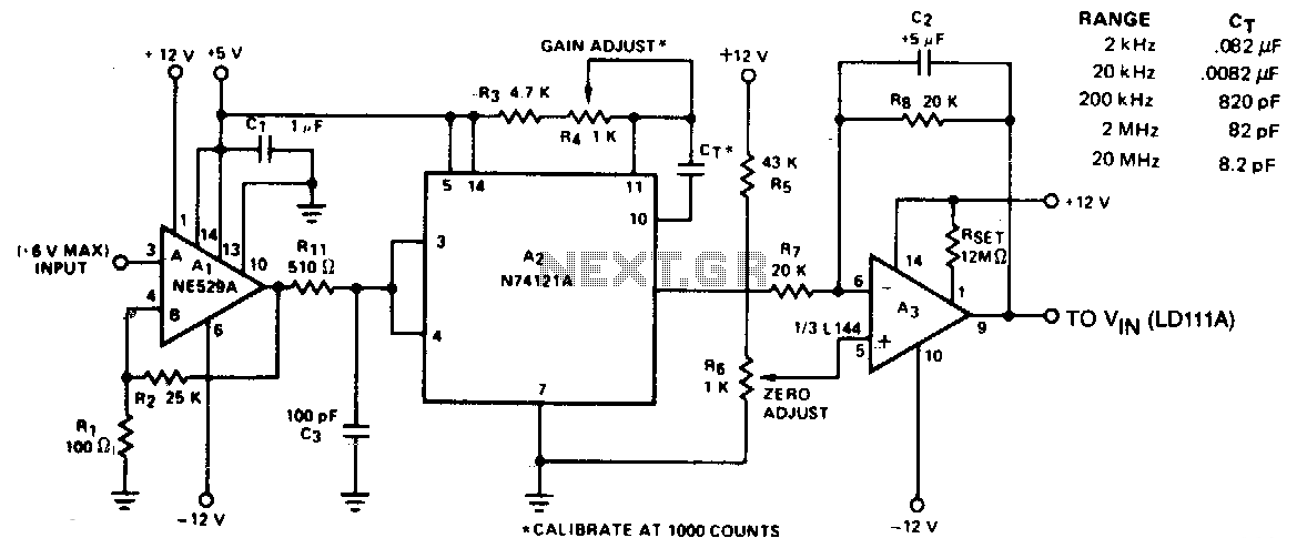 frequency meter circuit   meter counter circuits    next gr