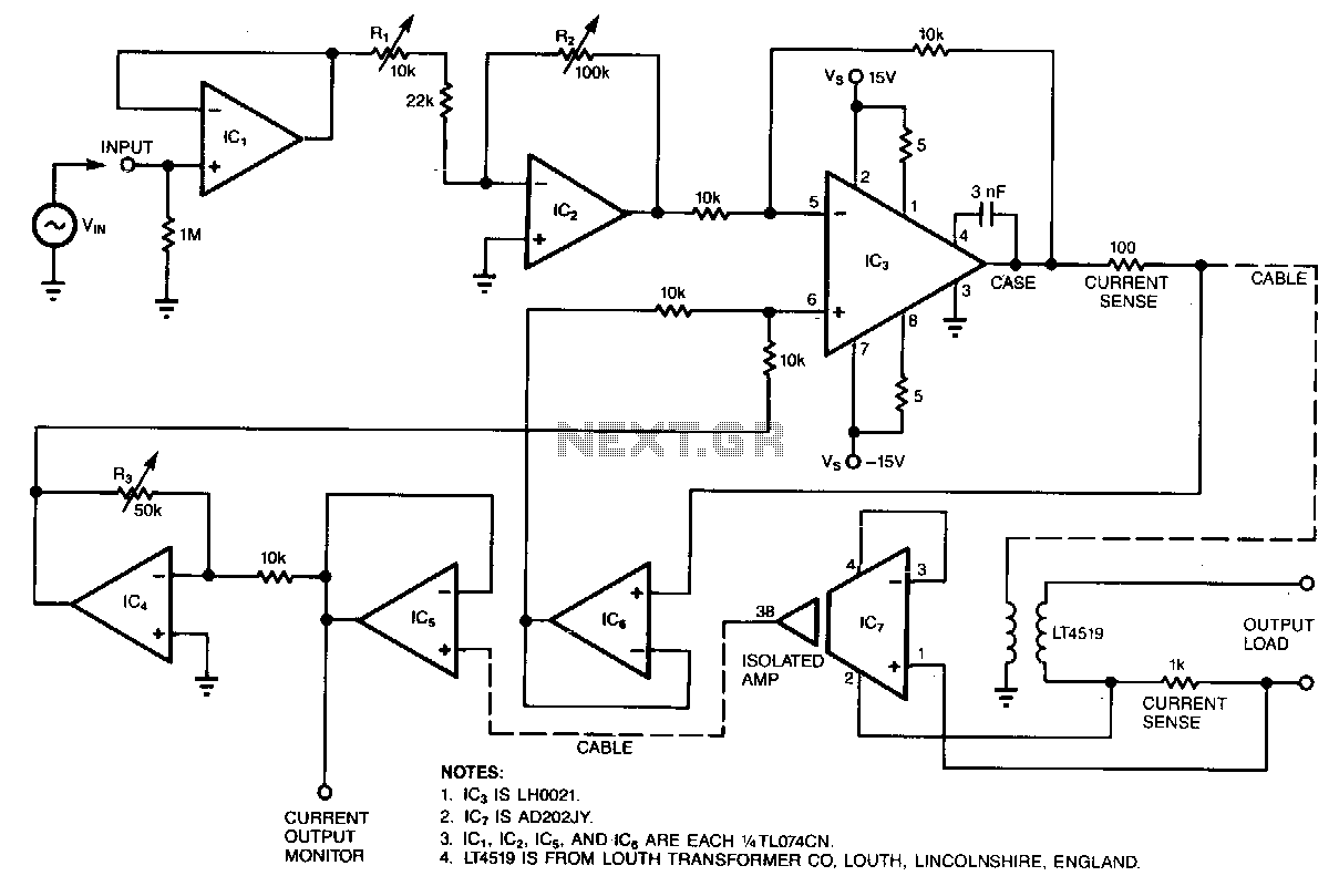 Constant-current-stimulator - schematic