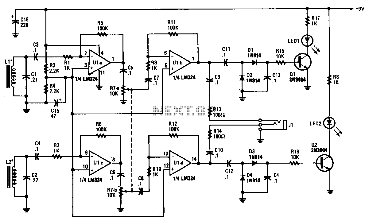 Tracer-receiver - schematic