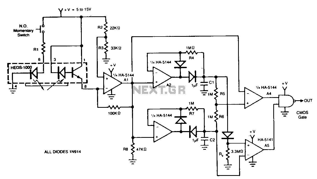 circuit diagram for barcode reader