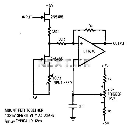 50Mhz-trigger - schematic